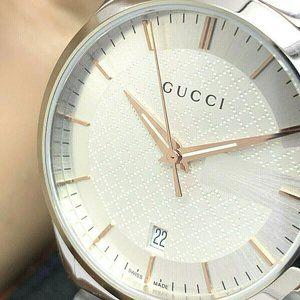 GUCCI Unisex Watch YA126442 G-Timeless Swiss
